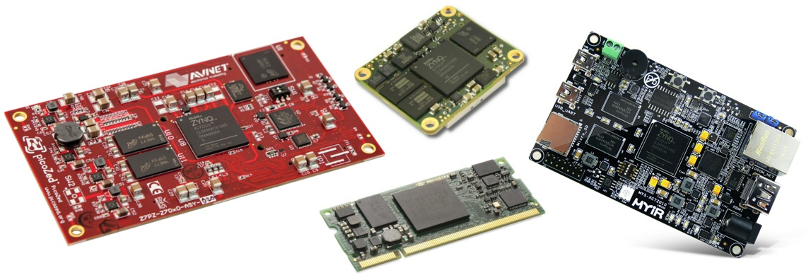 Comparison of Zynq SoMs