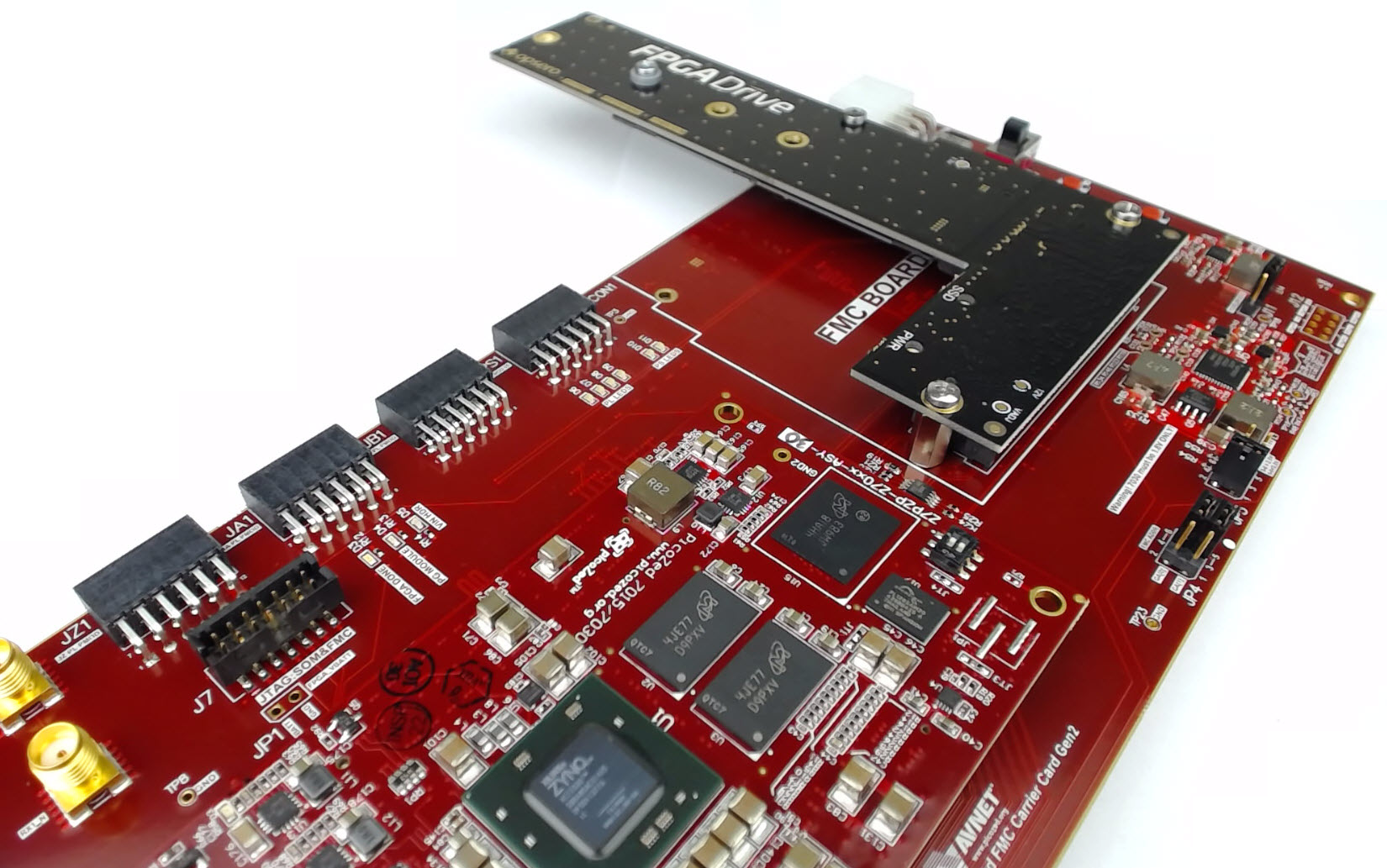 Connecting an SSD to an FPGA running PetaLinux