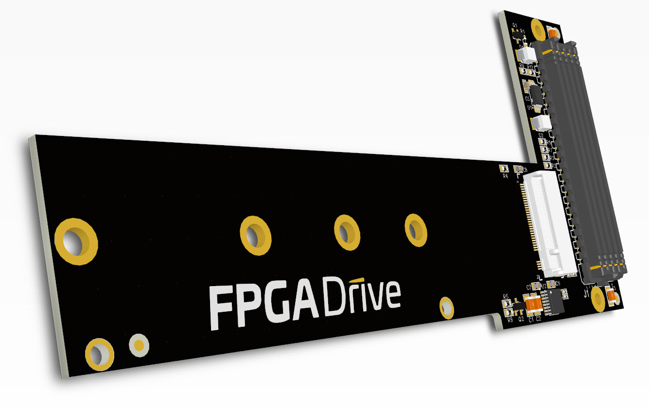 FMC for Connecting an SSD to an FPGA